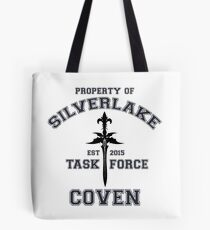 Property Of Silverlake Coven Task Force Tote Bag