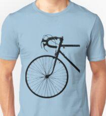 Crescent Bike Black Unisex T-Shirt