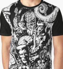 Adventurers vs. The Beast (7DSystem Cover) Graphic T-Shirt