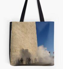 Monumental fog Tote Bag