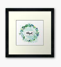 Personalised Abigail Framed Print