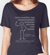 Die Tilde - kraftvolle Satzzeichen Baggyfit T-Shirt