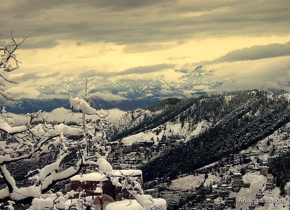 Snowfall3 by Anaida  Lawson