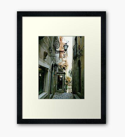 Taormina Framed Print