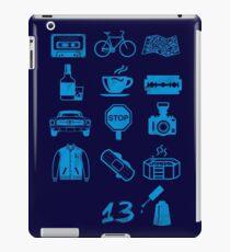 13 Icons Why iPad Case/Skin