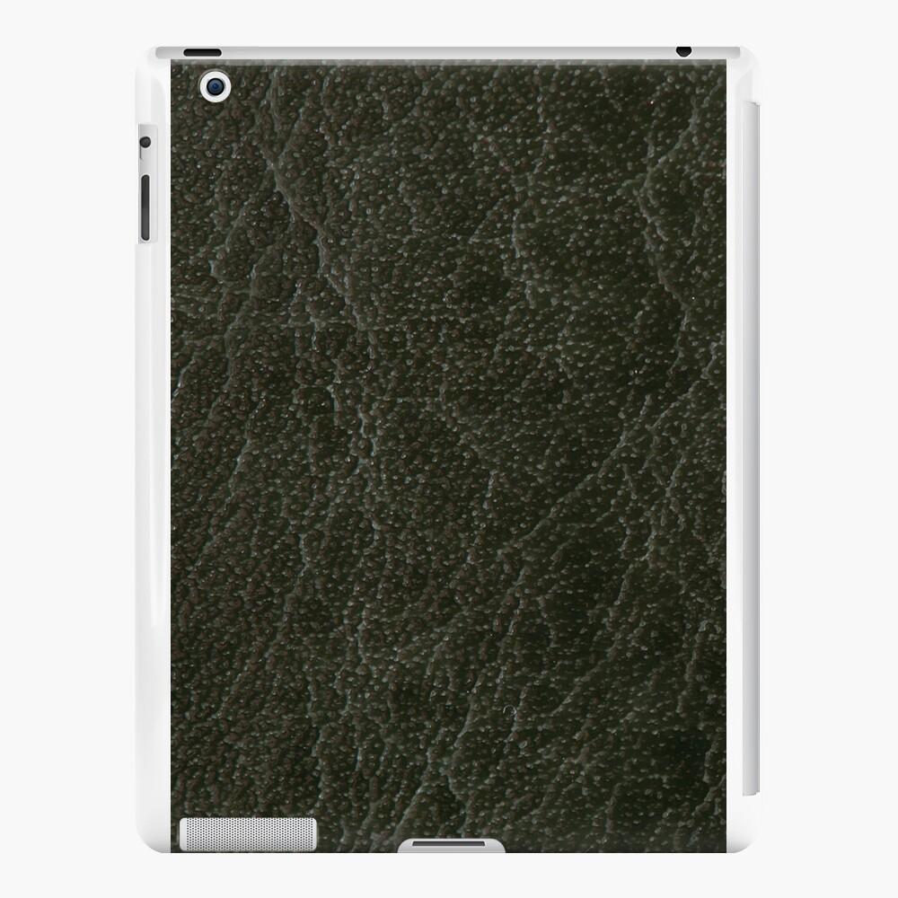 Textura de hoja de cuero poroso verde Vinilos y fundas para iPad