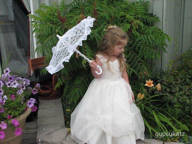 The little flower girl by gypsykatz