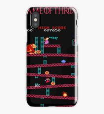 Game of Throws iPhone Case/Skin