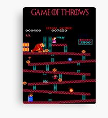 Game of Throws Canvas Print