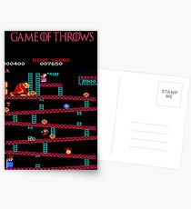 Game of Throws Postcards