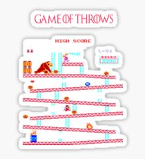 Game of Throws Sticker