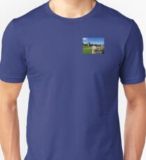 The Chapel and Lady Tower at Farleigh Hungerford Castle Unisex T-Shirt