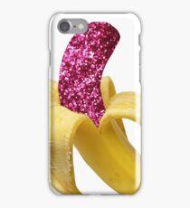 Pink Glitter Banana iPhone Case/Skin