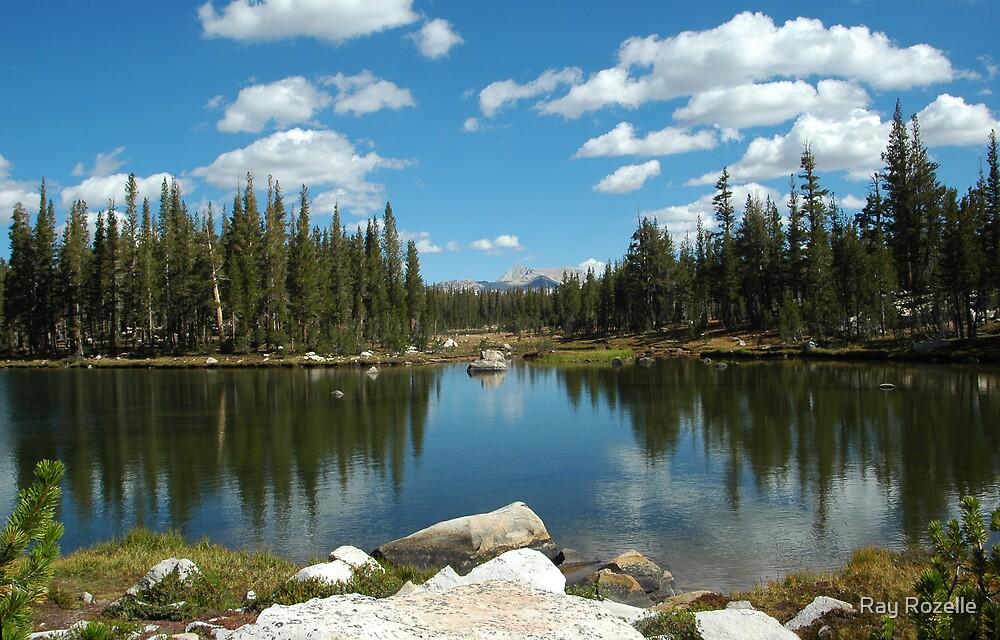 Elizabeth Lake Yosemite  by Ray Rozelle