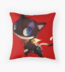 Persona 5 Morgana Throw Pillow