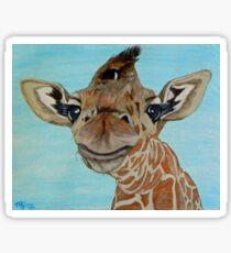 Giraffe … a1 Sticker