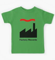 Factory Records Shirt Kids Tee