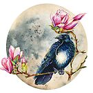 Moonglow and the Raven by Emily May  Studio Arts