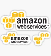 AWS Amazon Web Services Logos Sticker