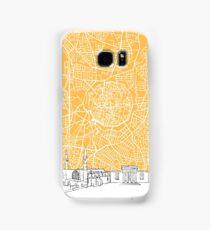 Nicosia Cyprus Skyline Map Samsung Galaxy Case/Skin