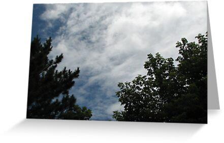 Afternoon clouds (3 by gypsykatz