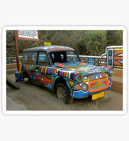 Ndebeli taxi Sticker