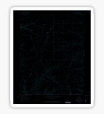 USGS TOPO Map Colorado CO Red Horse Gulch 451667 1966 24000 Inverted Sticker