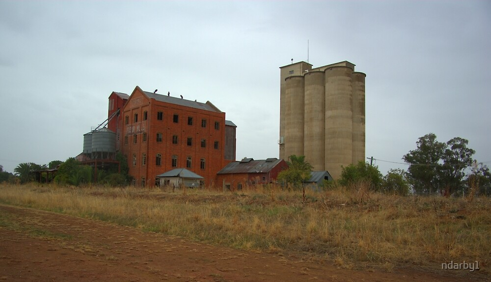 corowa's old flour mill by ndarby1