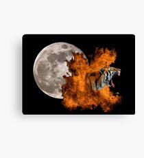 Birth Of The Tiger Canvas Print