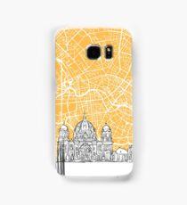 Berlin Germany Skyline Map Samsung Galaxy Case/Skin