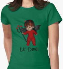 Lil Devil Women's Fitted T-Shirt
