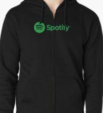 Spotify Zipped Hoodie