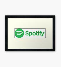 Spotify Framed Print