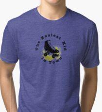 Roller Skates Tri-blend T-Shirt