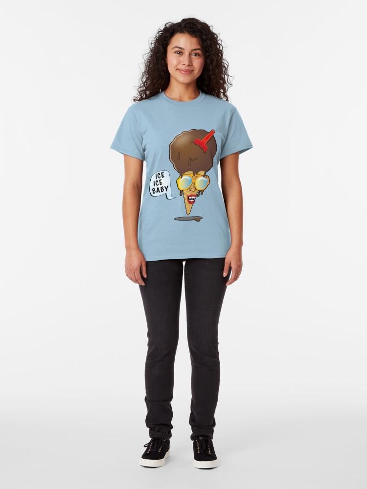 Alternate view of Cool Ice Cream Cone Classic T-Shirt