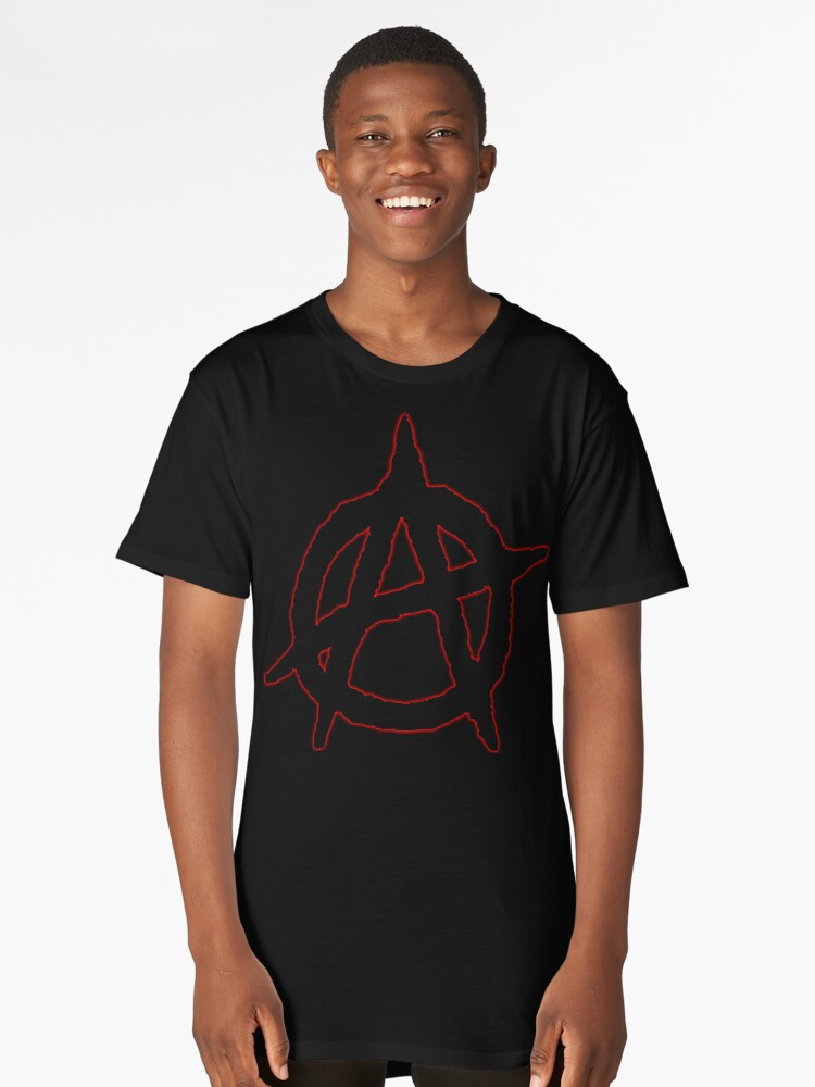 Anarchy Long T-Shirt Front