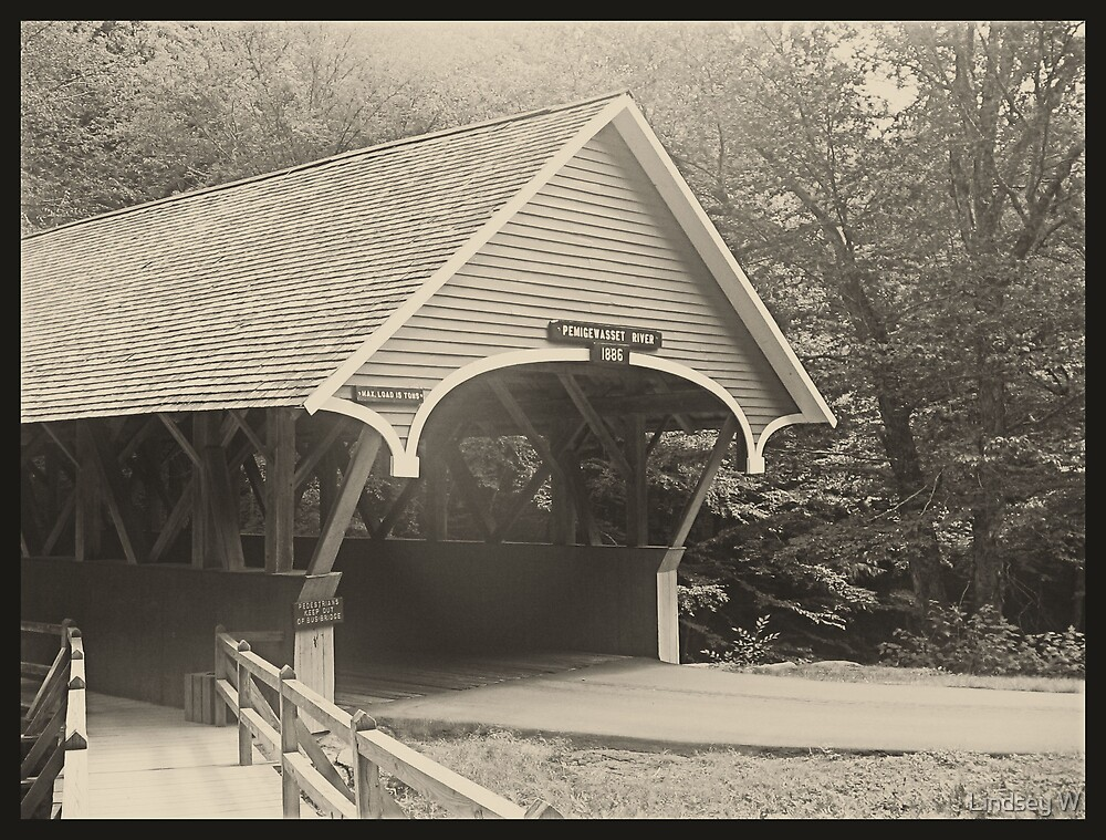 Covered Bridge by Lindsey W