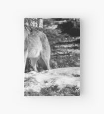 Timber Wolf Winter Menaces Hardcover Journal