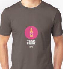 Team bride St. Petersburg 2017 Henparty Ri9ps Unisex T-Shirt