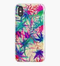 Tropical Jungle - a watercolor painting iPhone Case/Skin