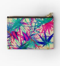 Tropical Jungle - a watercolor painting Studio Pouch