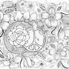 PEACE AND NATURE 2 by Gea Austen