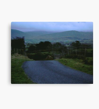Northern Ireland Road Canvas Print