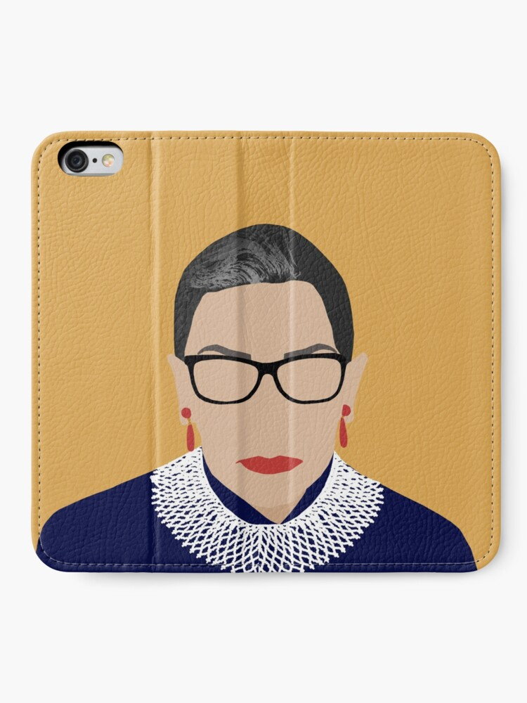 Alternate view of Ruth Bader Ginsburg  iPhone Wallet