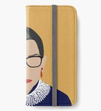 Ruth Bader Ginsburg  iPhone Wallet/Case/Skin