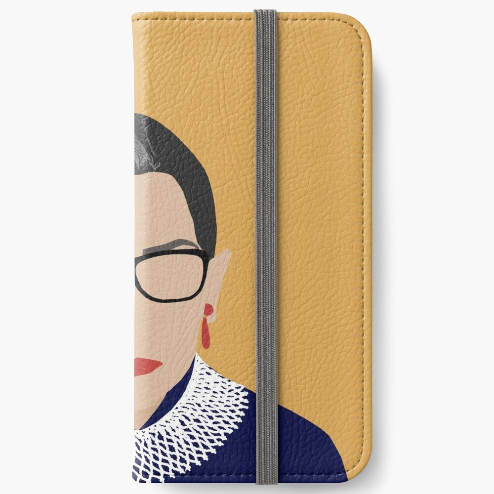 Ruth Bader Ginsburg  iPhone Wallet