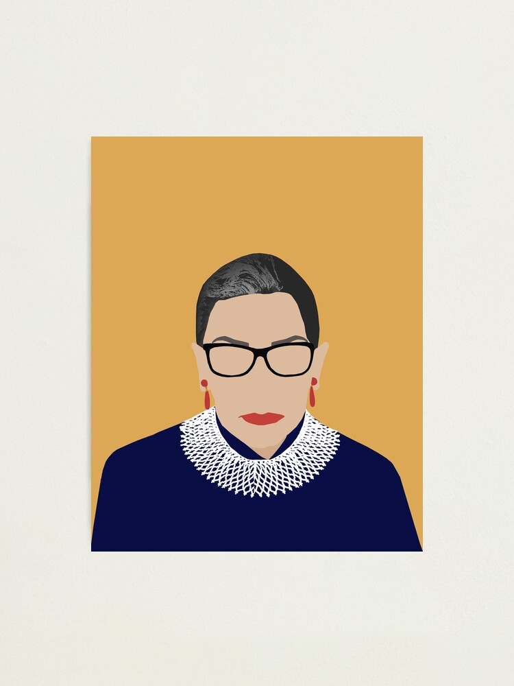 Alternate view of Ruth Bader Ginsburg  Photographic Print