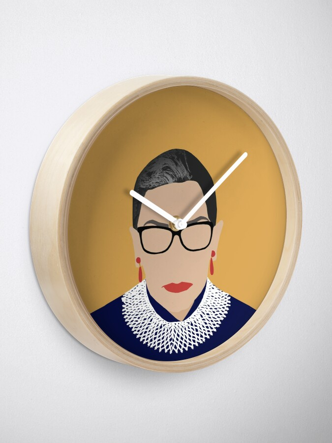 Alternate view of Ruth Bader Ginsburg  Clock