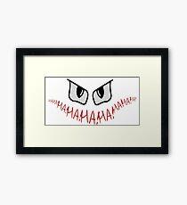 Joker Gotham Logo Framed Print