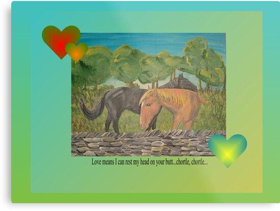 Kentucky Horses Valentine by Deborah McCormick